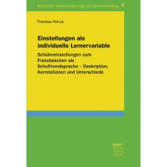 Einstellungen als individuelle Lernervariable eBook (ePDF)