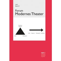 Forum Modernes Theater Band 27 (2012), Heft 1 + 2