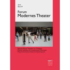 Forum Modernes Theater Band 29 (2014), Heft 1+ 2