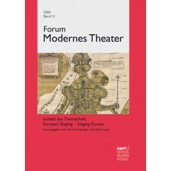 Forum Modernes Theater Band 31 (2020), Heft 1+ 2