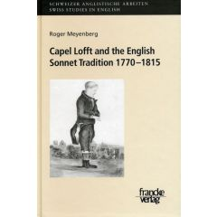 Capel Lofft and the English Sonnet Tradition 1770-1815