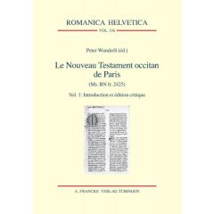 Le Nouveau Testament occitan de Paris(Ms. BN fr. 2425) eBook (ePDF + ePub)