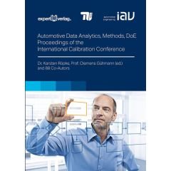 Automotive Data Analytics, Methods and Design of Experiments (DoE) eBook (ePDF)