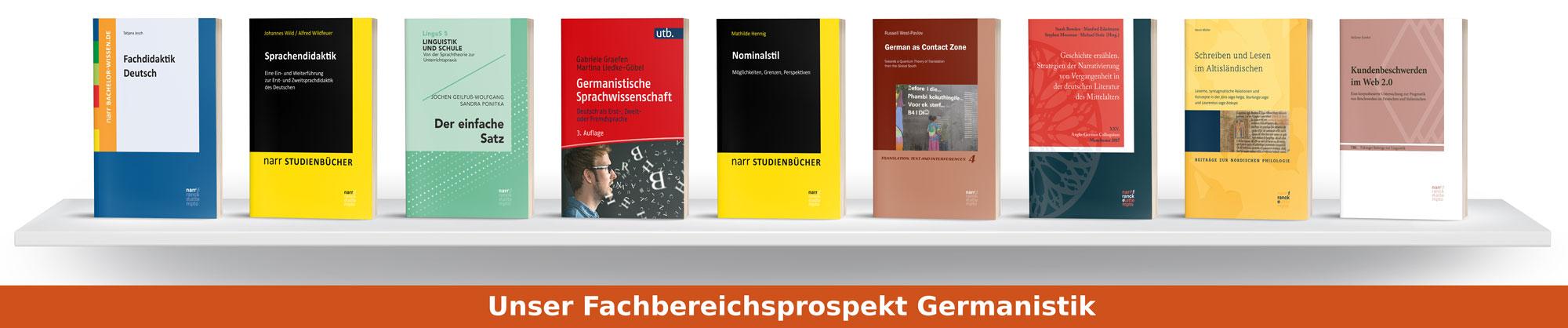 Fachbereichsprospekt Germanistik