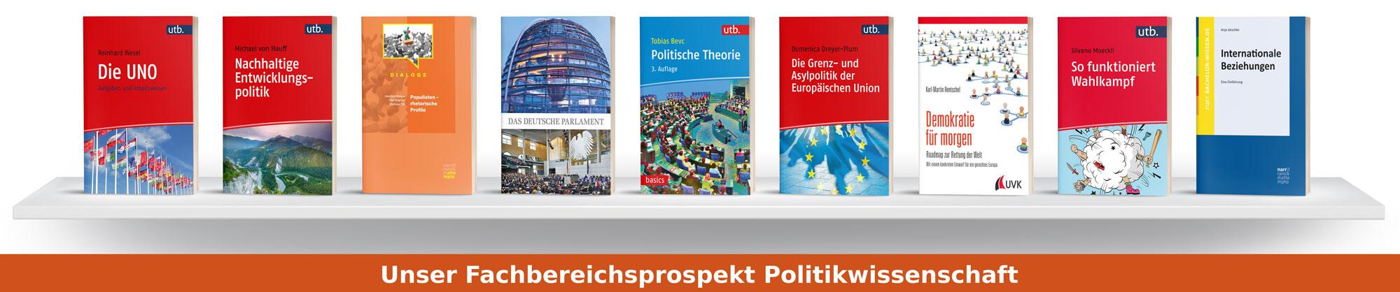 Fachbereichsprospekt Politikwissenschaft