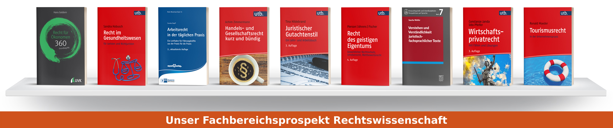 Fachbereichsprospekt Rechtswissenschaft