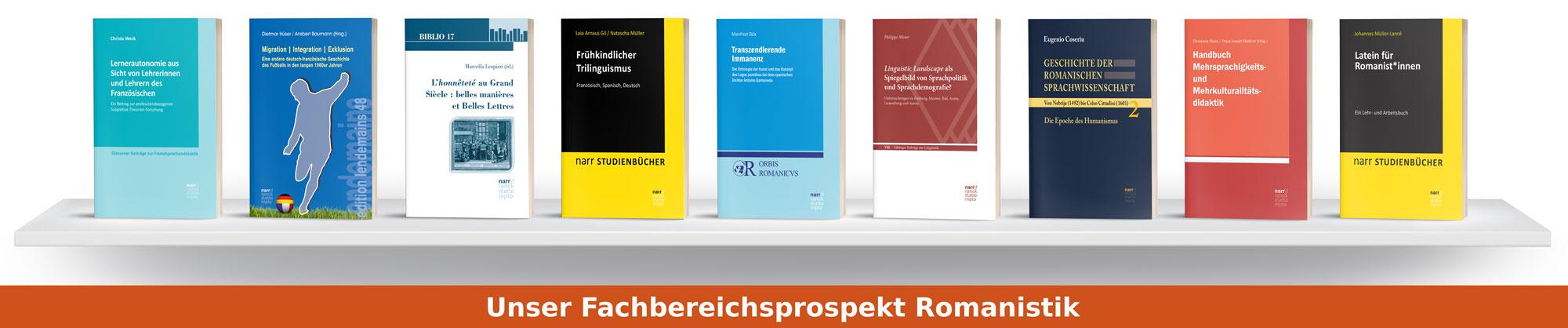 Fachbereichsprospekt Romanistik