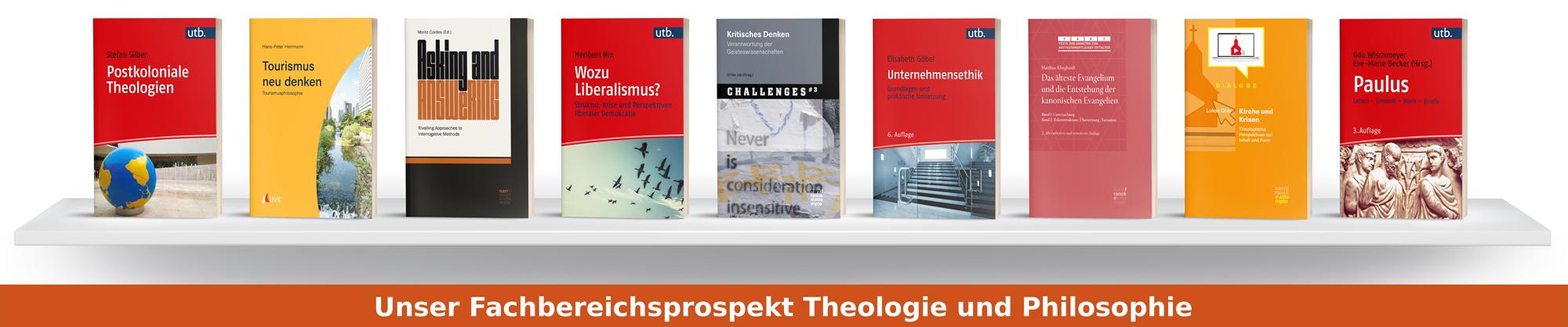 Fachbereichsprospekt Theologie und Philosophie