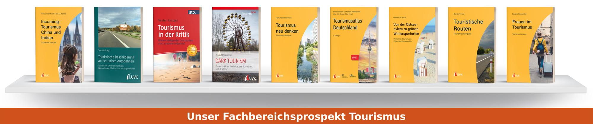 Fachbereichsprospekt Tourismus