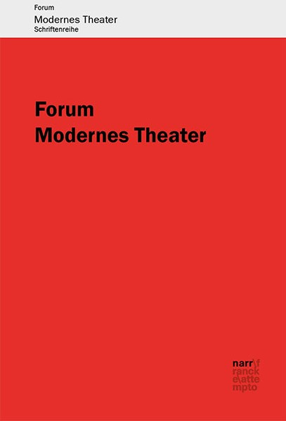 Buchreihe Forum Modernes Theater