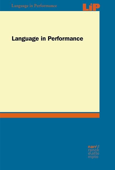 LiÜ - Language in Performance