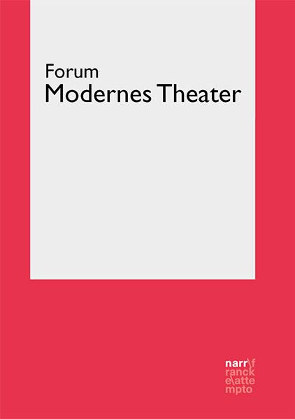 Zeitschrift Forum Modernes Theater