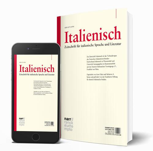 Italienisch - Zeitschrift für italienische Sprache und Literatur