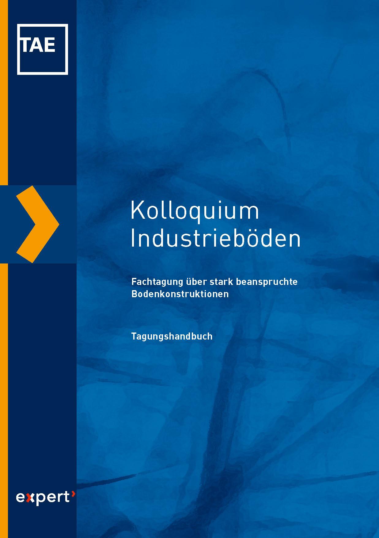 Kolloquium Industrieböden